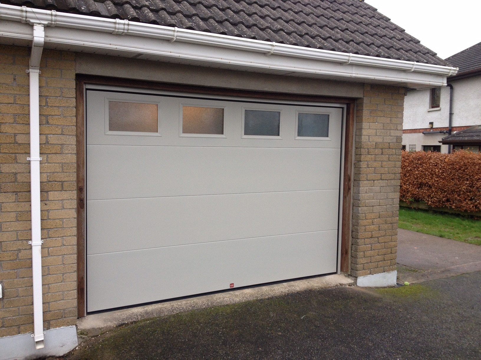 Insulated Sectional Garage Door In Waterford